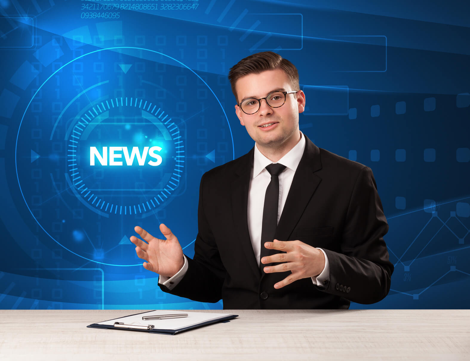 Morning Announcement Nes are different from traditional news. © Fotolia / ra2 studio