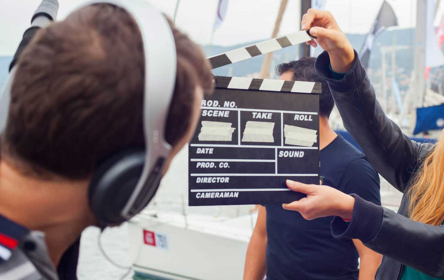 Video production - live or pre-recorded? © fotolia / bepsphoto