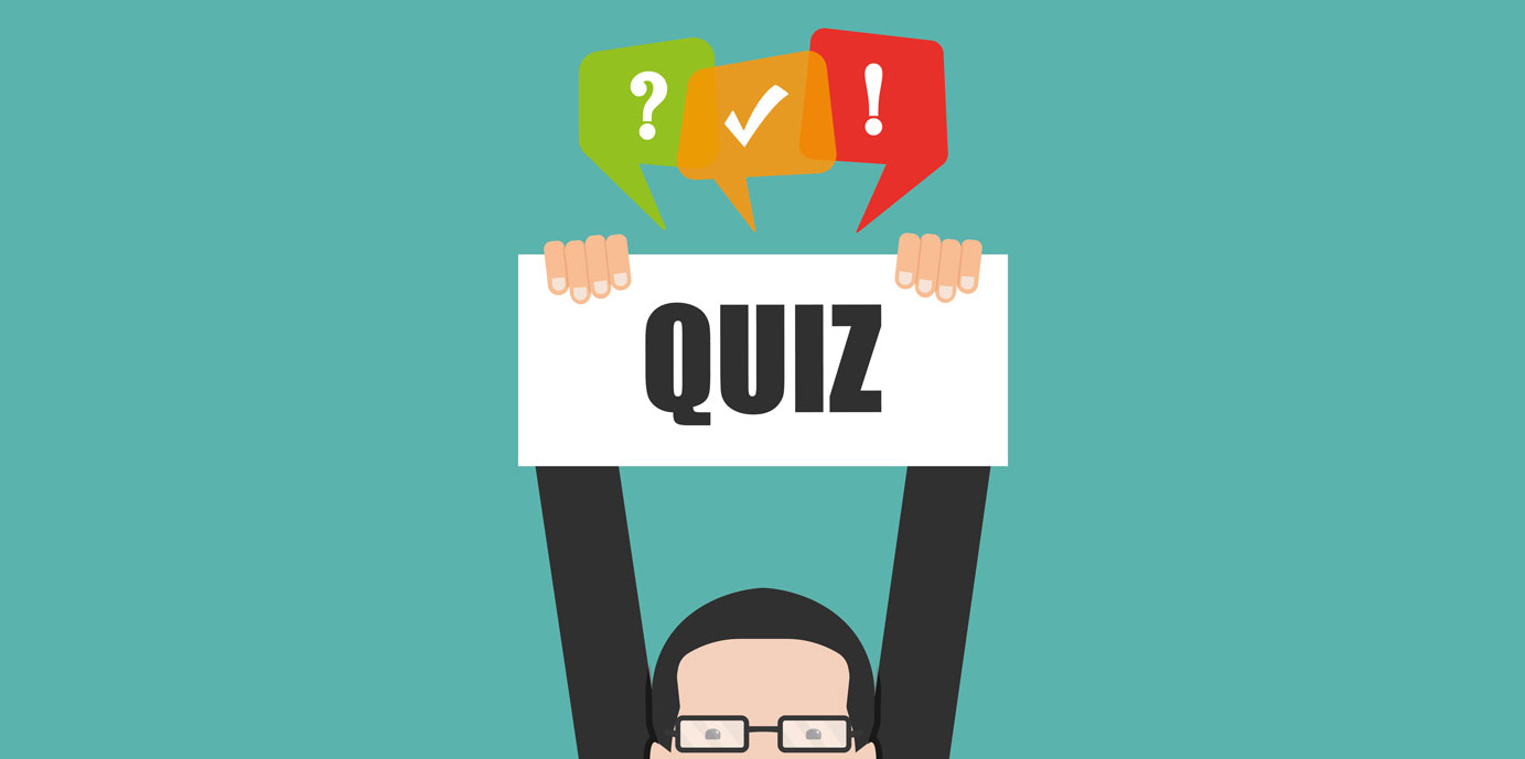 Quizzes are absolute fun © fotolia / 4zevar