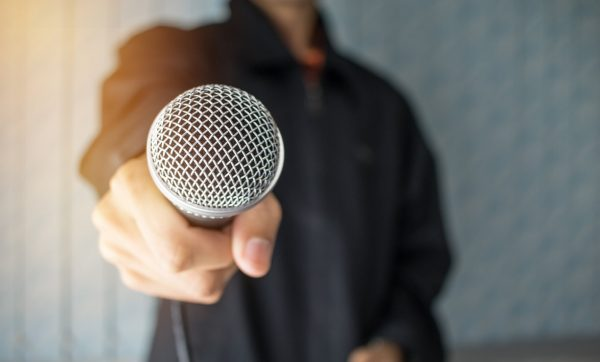 Audio in Morning Announcements © fotolia / smolaw11